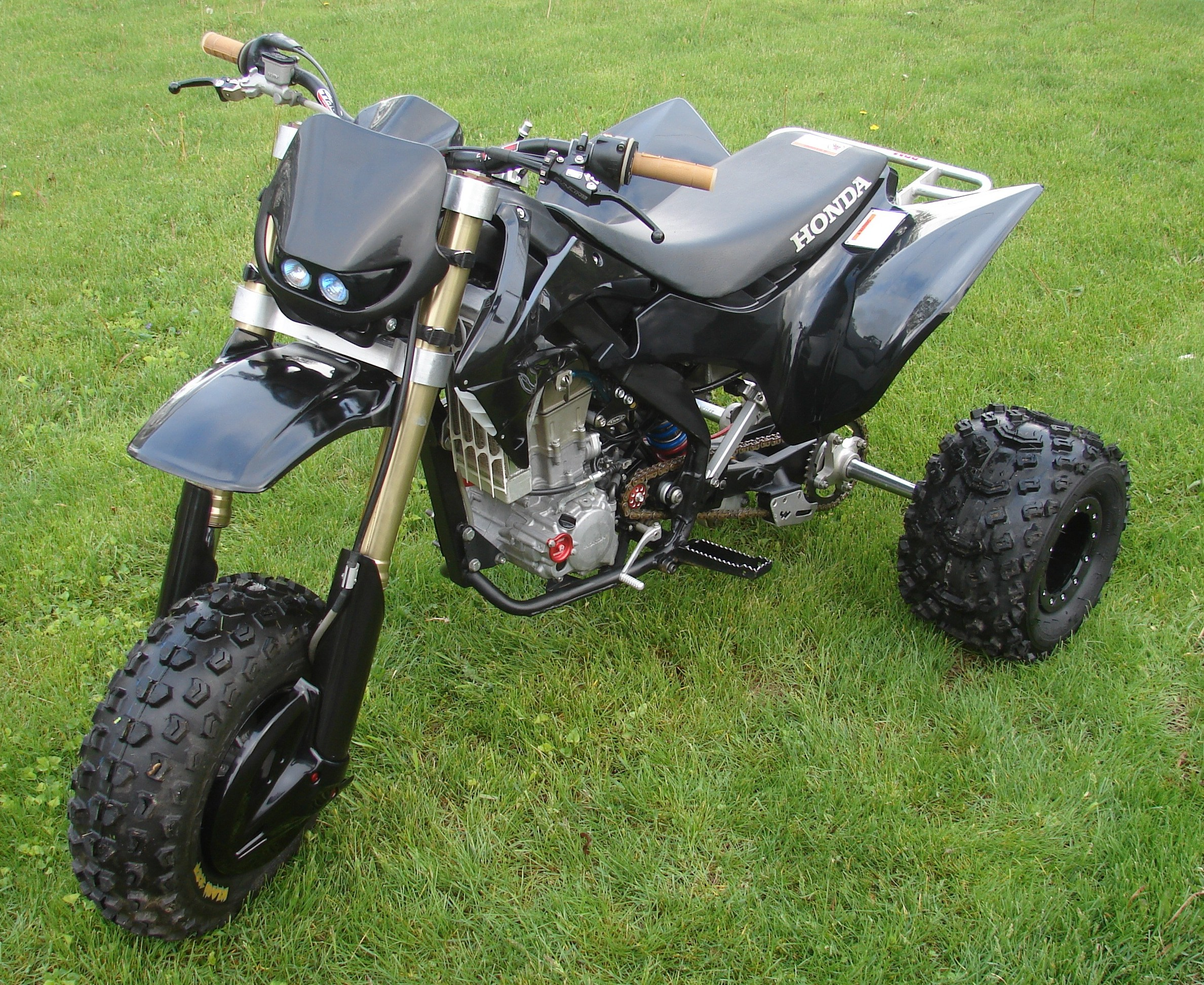 Big Four Wheelers >> TPC Trikes - Pics - TPC450R - Black